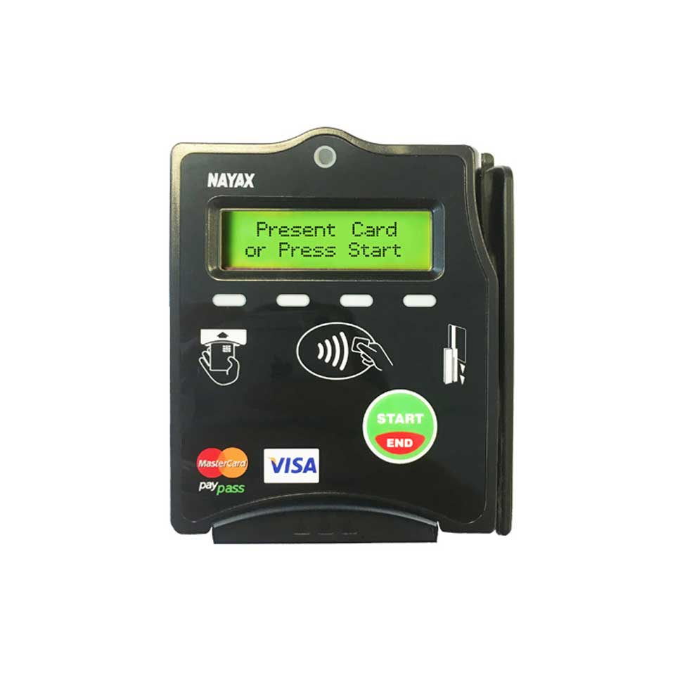 Digital kiosks for self-service payments - NAYAX Cashless by PARTTEAM