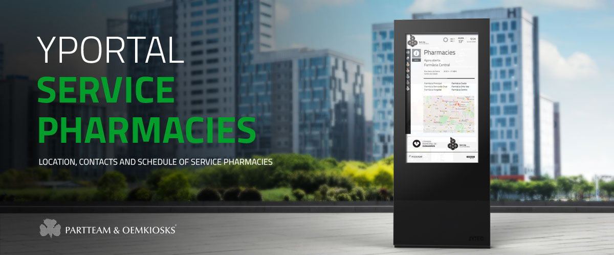 YPortal: Service Pharmacies by PARTTEAM & OEMKIOSKS