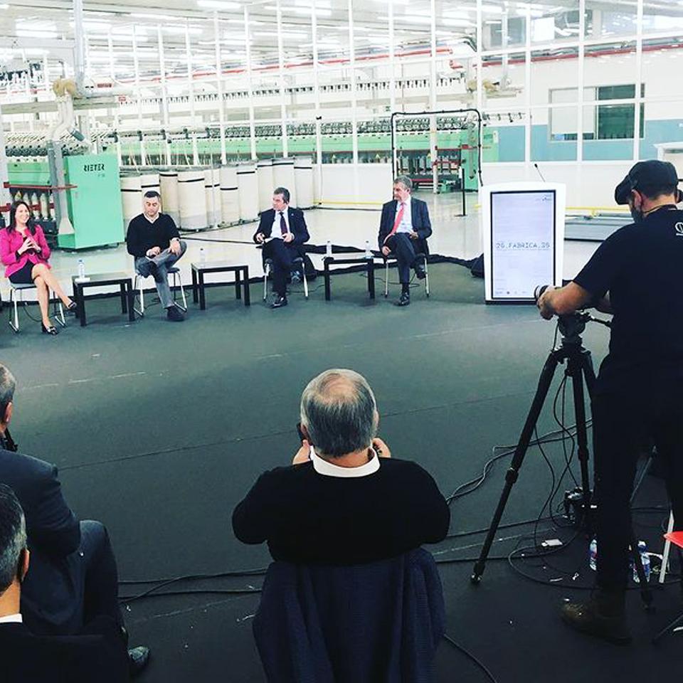 """PARTTEAM Digital Pulpit present at the ECO conference """"Fábrica 2030. Portugal e a Reindustrialização Europeia"""""""