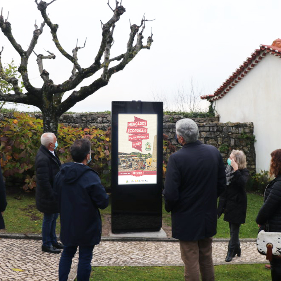Municipality of Ourém invests in PARTTEAM & OEMKIOSKS interactive table and digital billboards