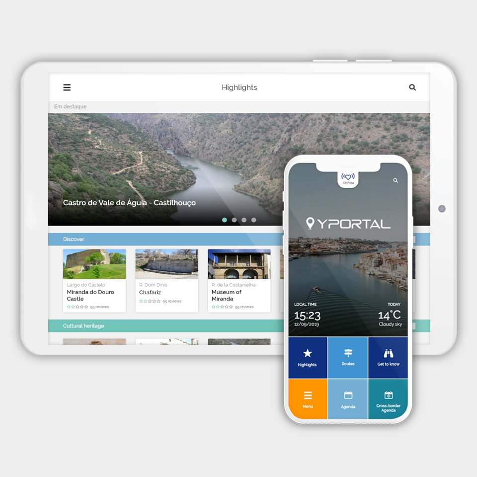YPortal APP: The city that travels with you
