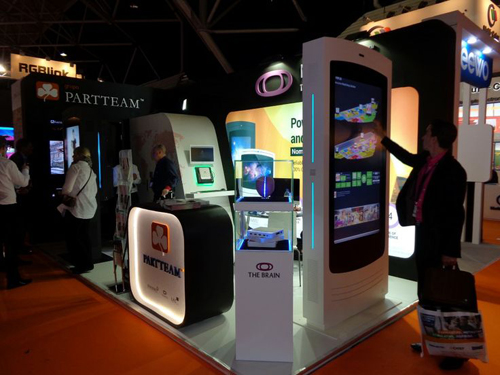 NOMYU at CeBIT 2015 by PARTTEM & OEMKIOSKS