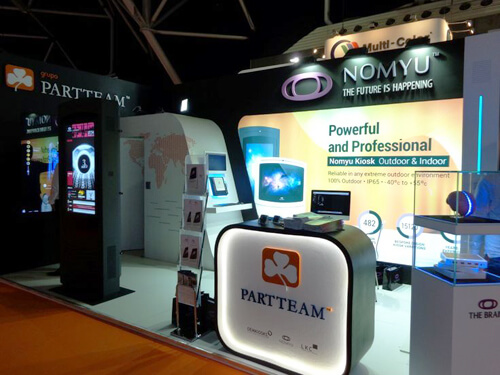 NOMYU at CeBIT 2015 by PARTTEAM & OEMKIOSKS