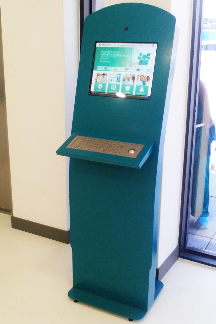 Queue Management Solution for Centro de Saúde de Pombal by PARTTEAM