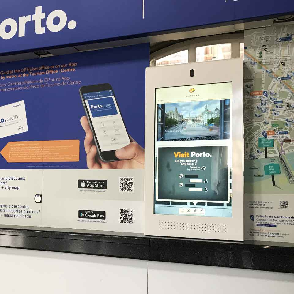 CP Promotes Porto Tourism with Multimedia Kiosk by PARTTEAM