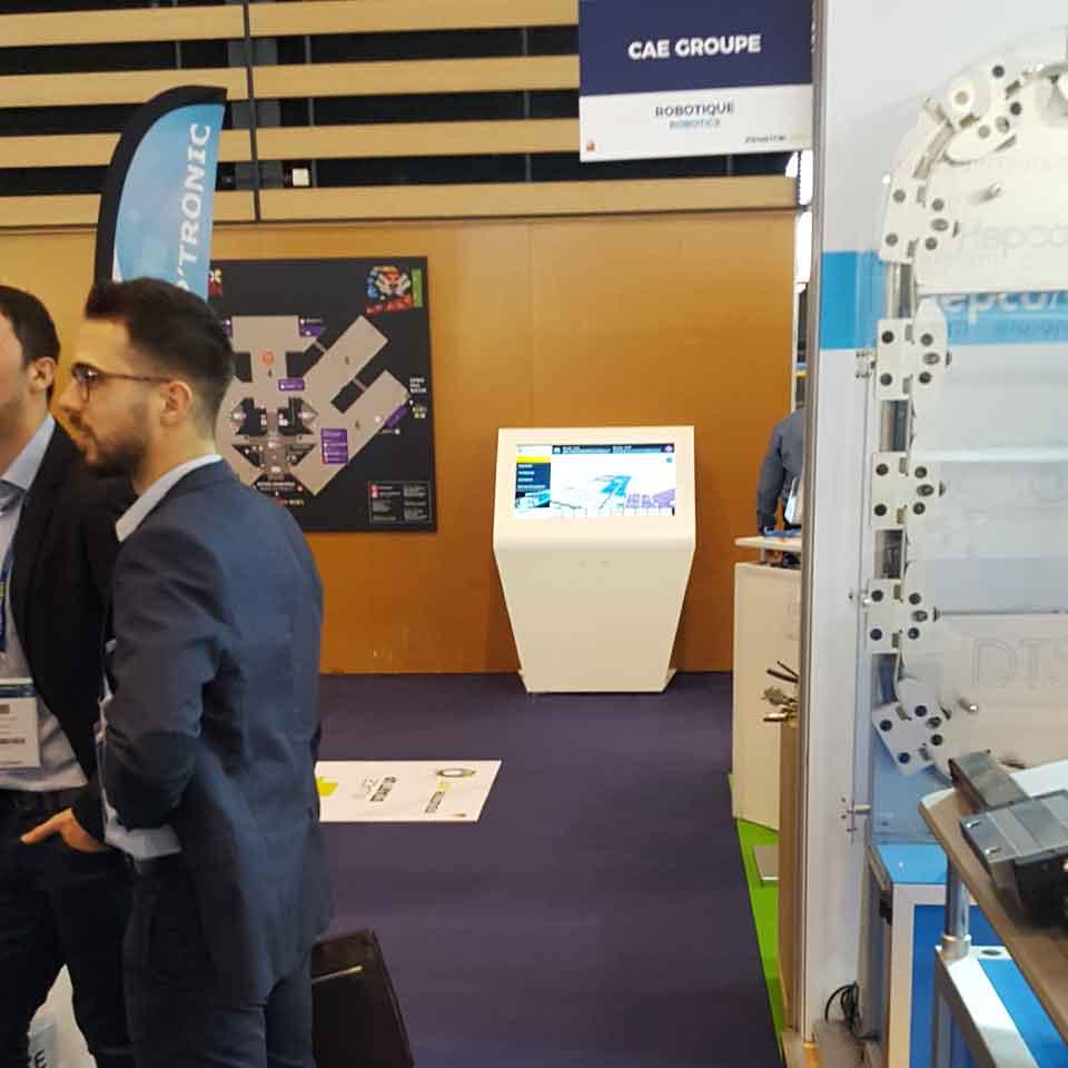 Tecnologia para Eventos e Exposições: Industrie Lyon 2017 by PARTTEAM