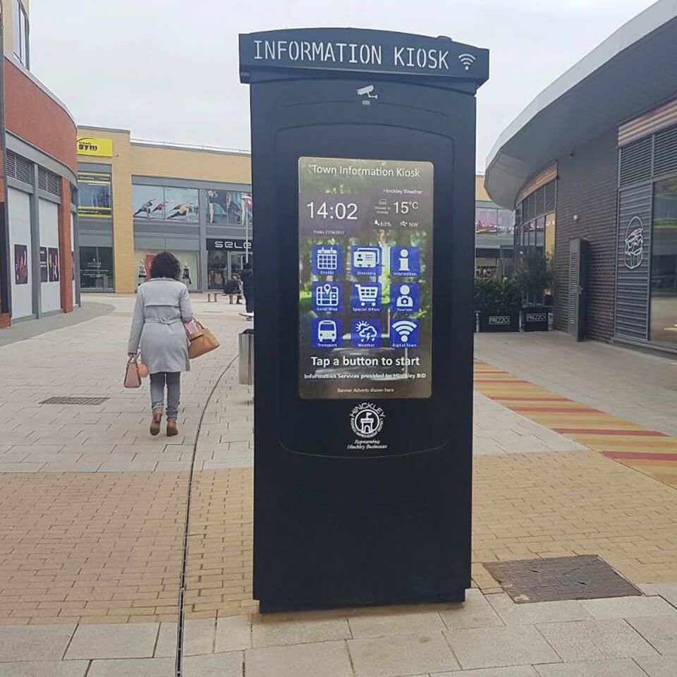 Information Kiosk: NOMYU Promotes Tourism in UK by PARTTEAM & OEMKIOSKS