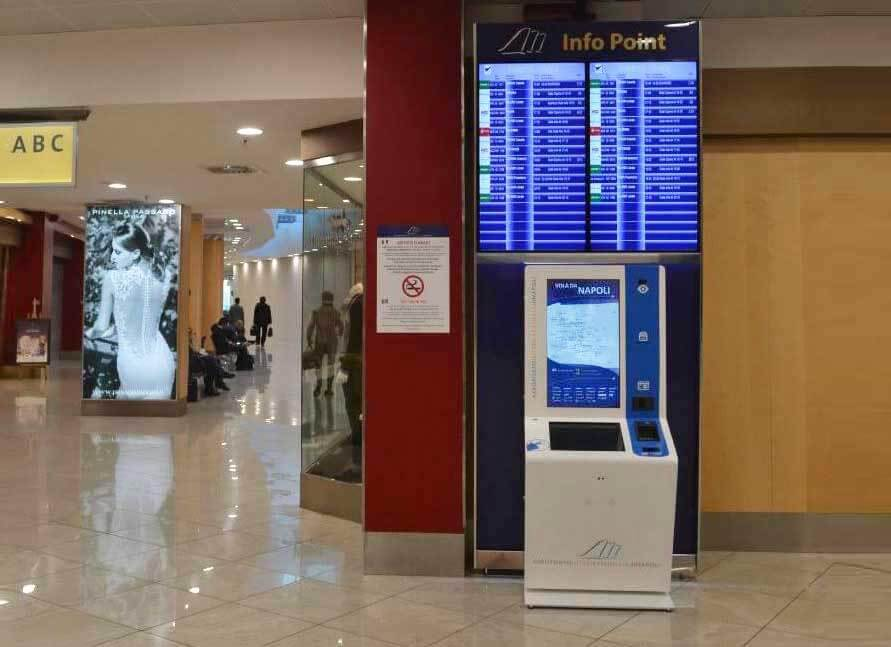 Internazionale di Napoli Airport by PARTTEAM & OEMKIOSKS
