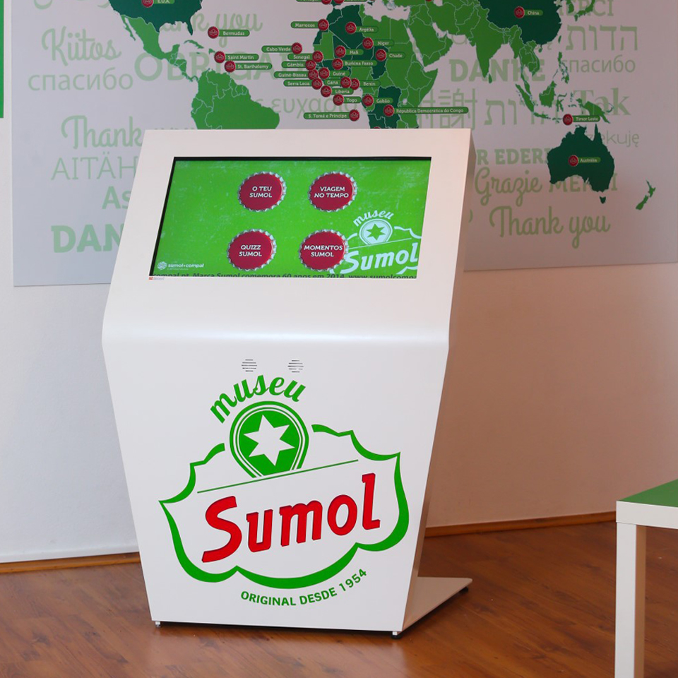 THE SUMOL INTERACTIVE MUSEUM BY PARTTEAM & OEMKIOSKS