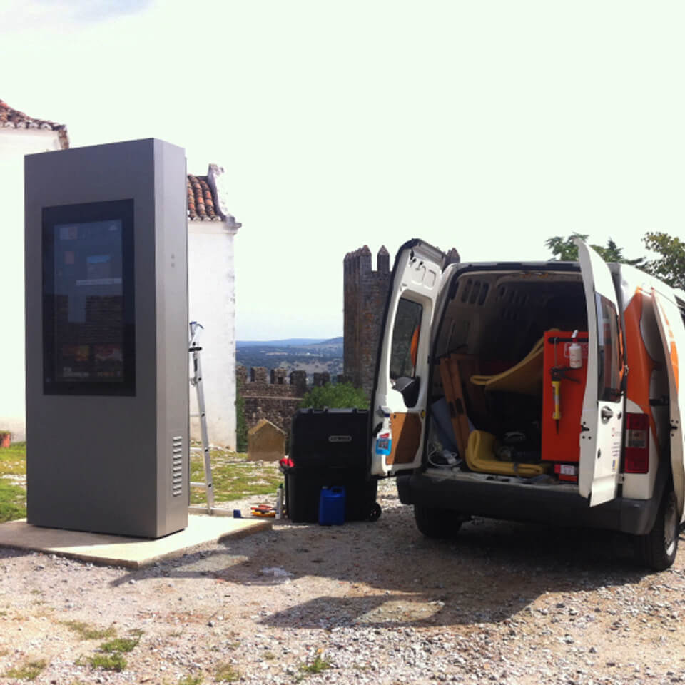 Installation of the PLASMV model in outdoor environment