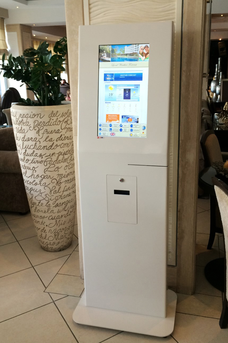 Self-Service Kiosk in Cyprus by PARTTEAM & OEMKIOSKS