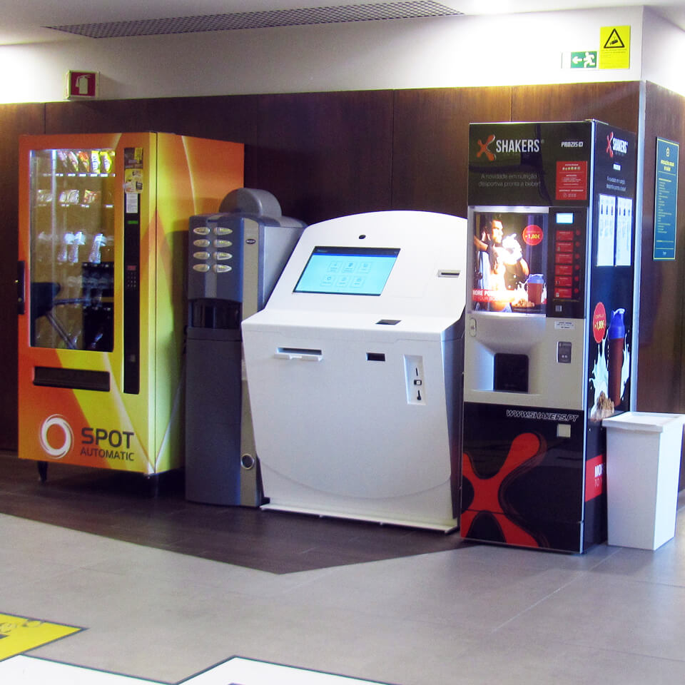 Self-Service Payment Kiosk - Fitness UP Braga by PARTTEAM