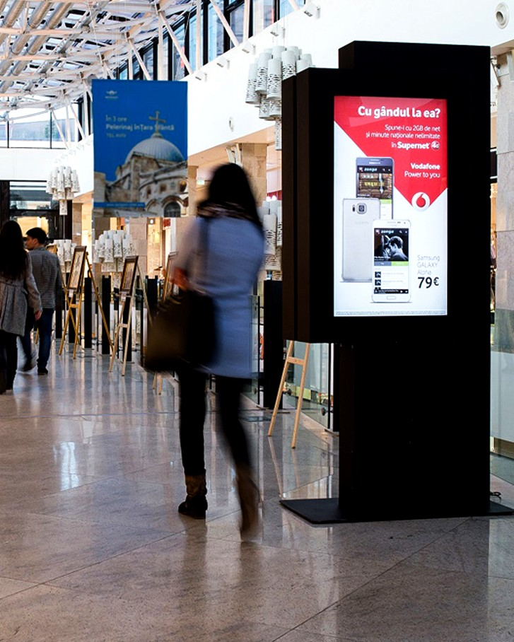 Quiosques Interativos para Shoppings na Europa by PARTTEAM