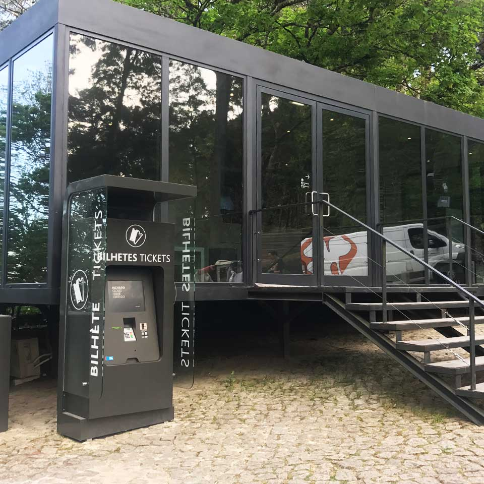 SINTRA PARKS USE PARTTEAM SELF-SERVICE KIOSKS by PARTTEAM