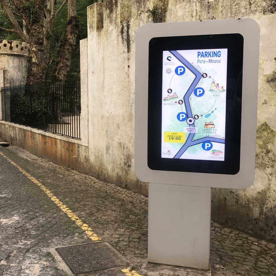 Sintra Parking indicator by PARTTEAM