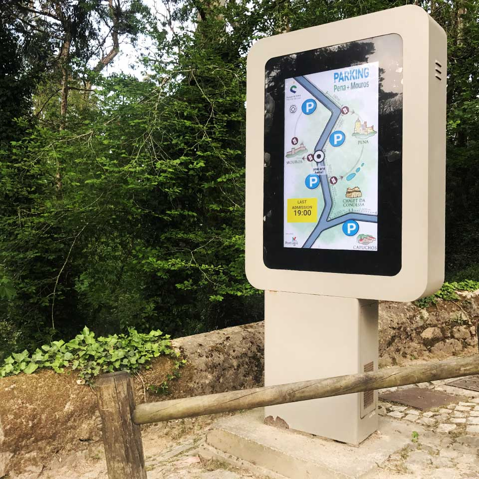 Parking Indicator in Sintra by PARTTEAM & OEMKIOSKS