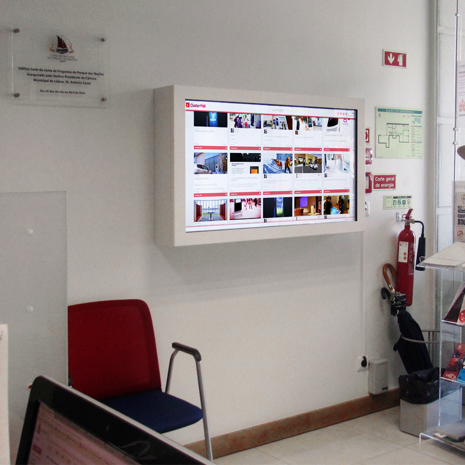 Technology in the Town Councils by PARTTEAM & OEMKIOSKS