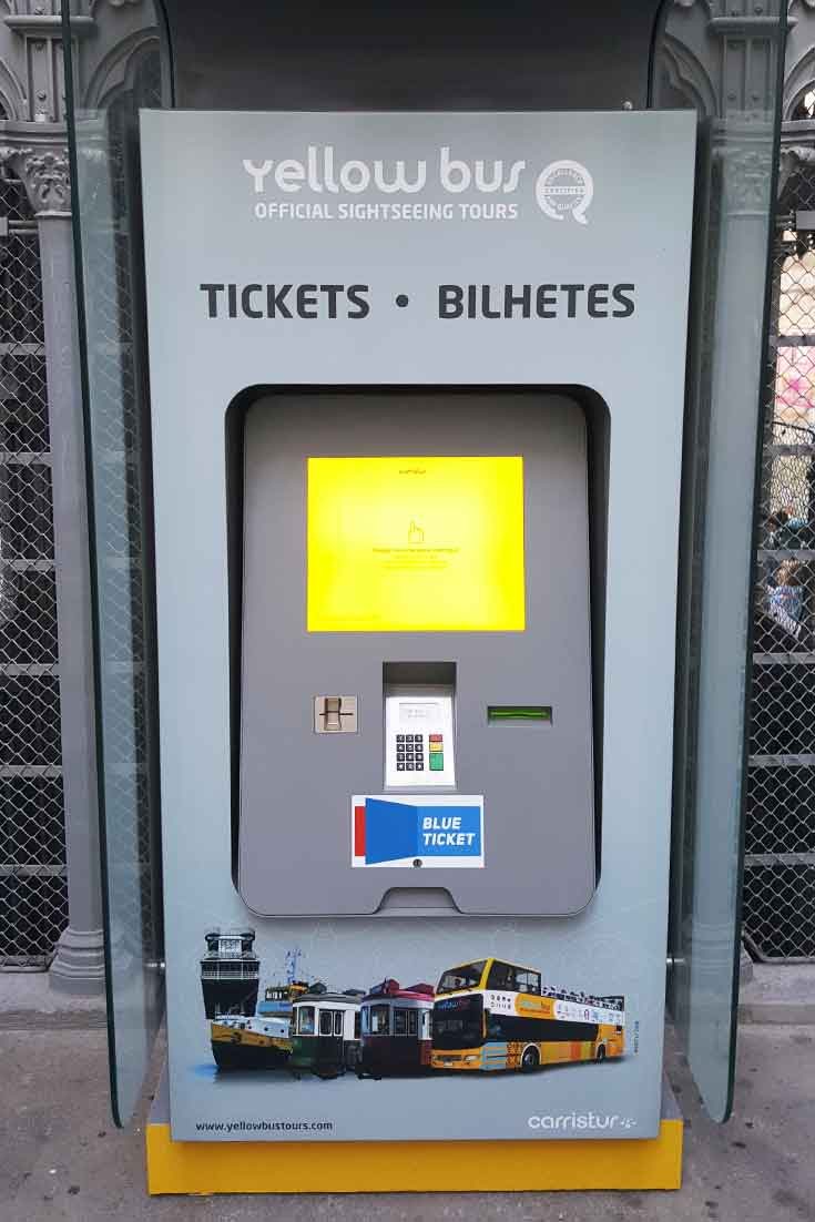 Self-Service Kiosk: Ticket Sale for Yellow Bus - Tourism by PARTTEAM