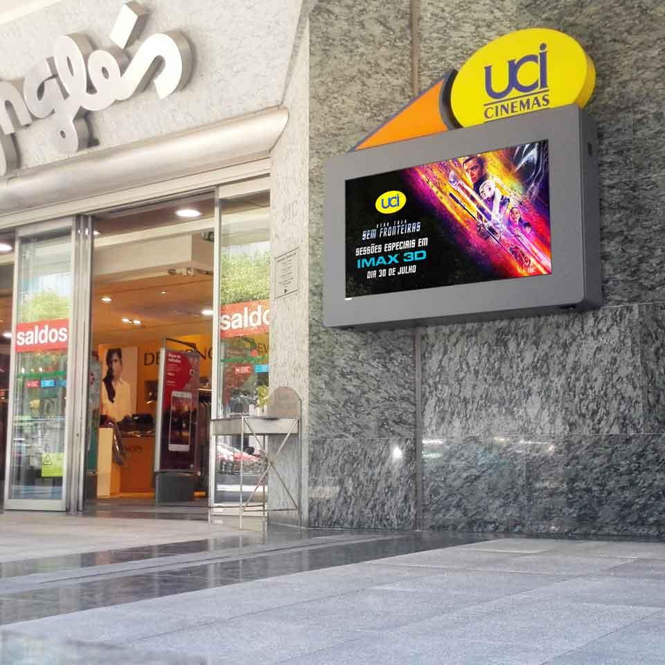 Digital Cinematographic Posters: UCI Cinemas - El Corte Ingles in Lisbon by PARTTEAM