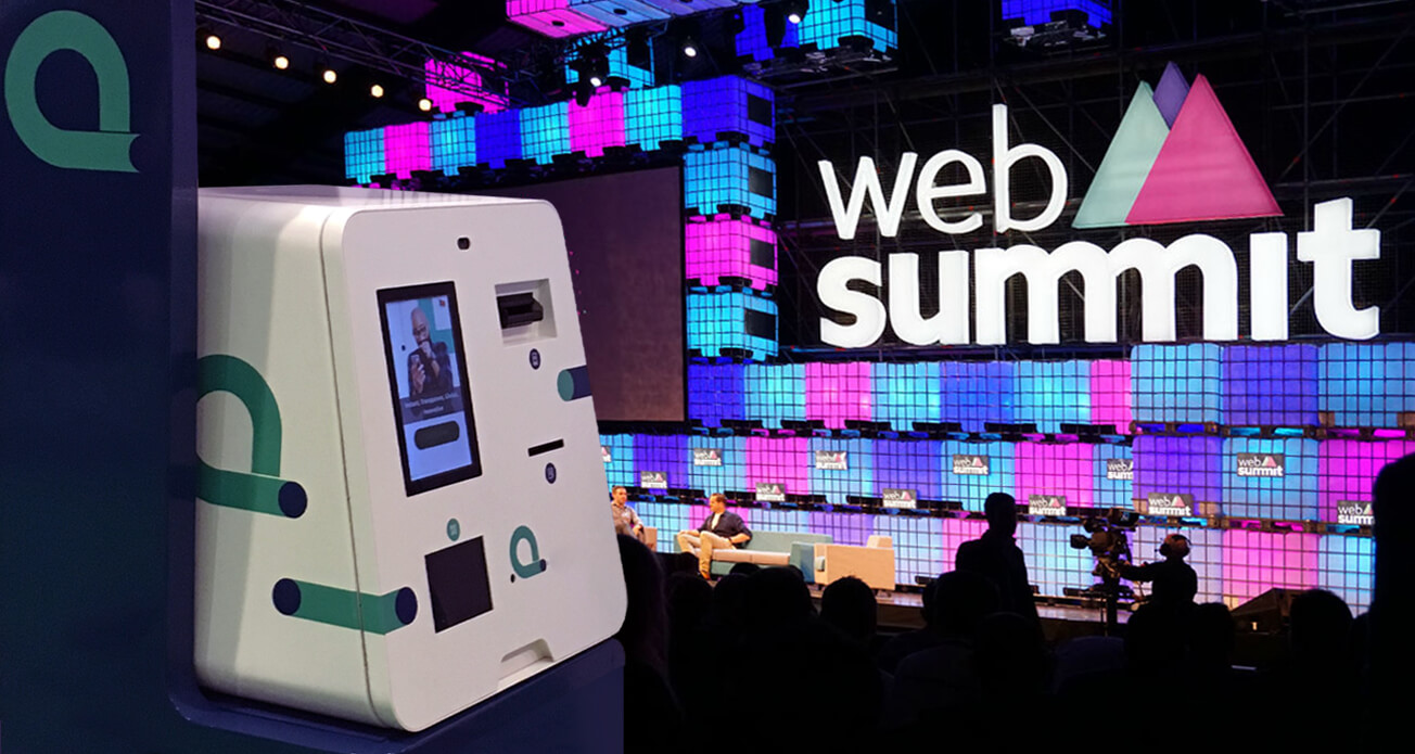Web Summit 2016 PARTTEAM & OEMKIOSKS
