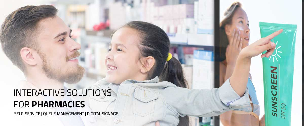 Interactive solutions for pharmacies