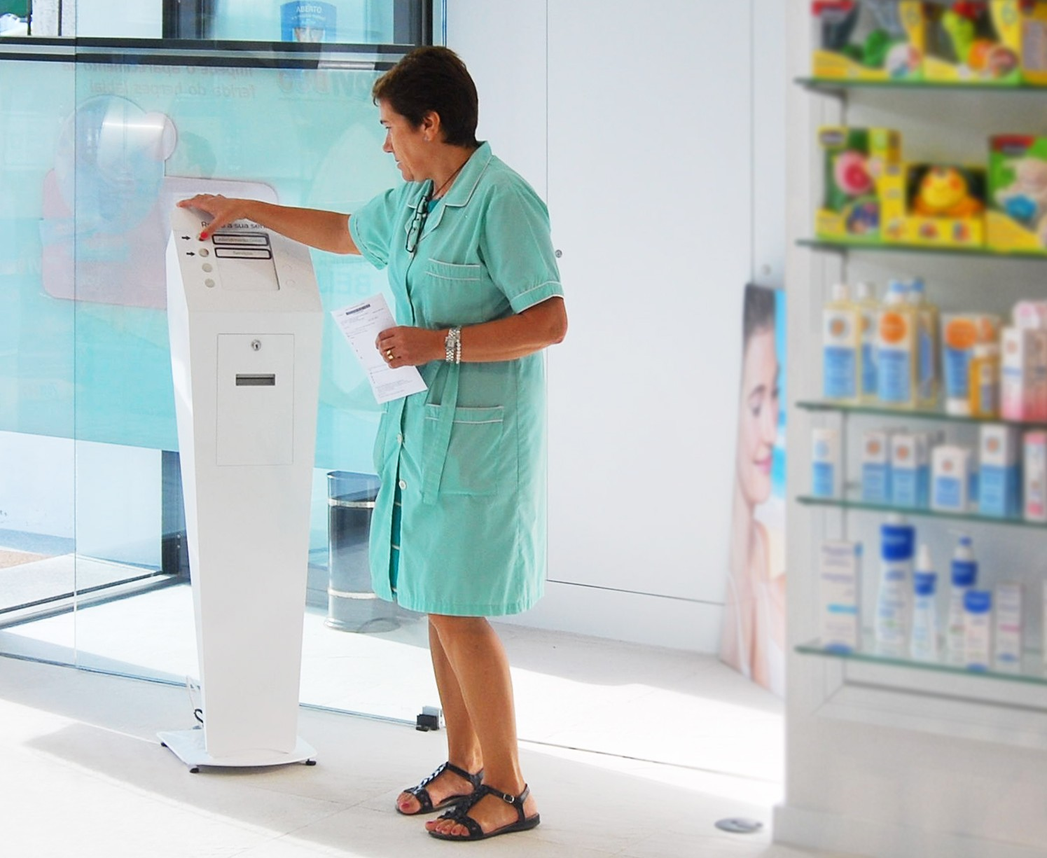 Interactive solutions for pharmacies - self service