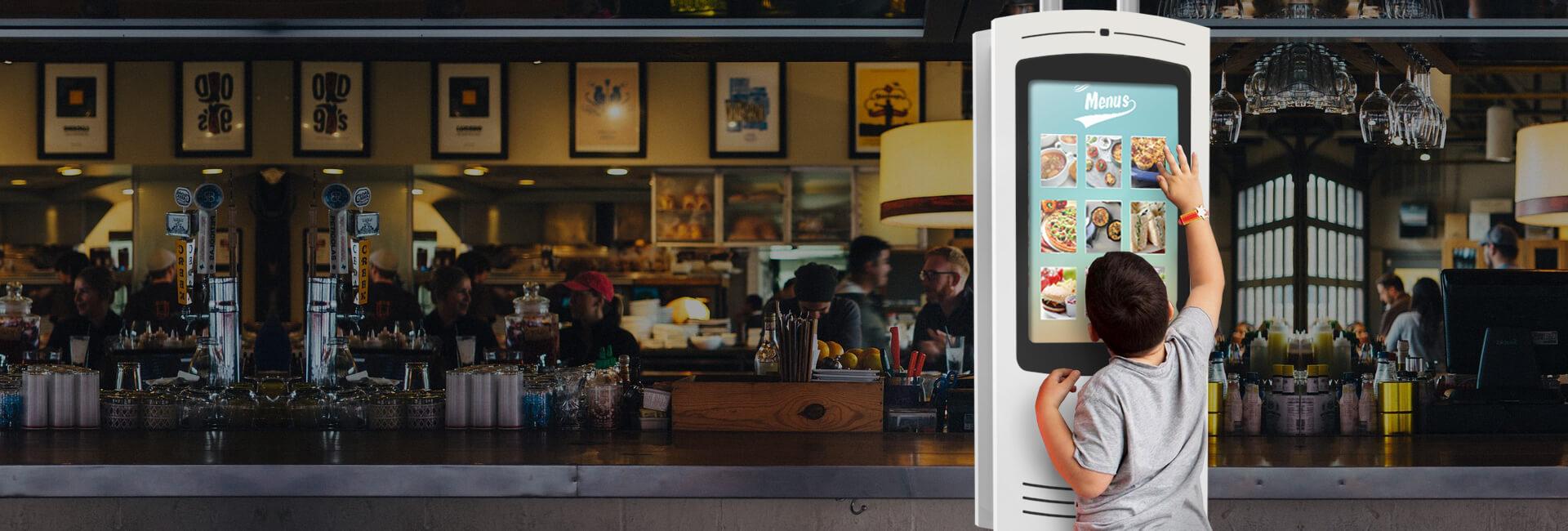 Self-service Kiosks for Restaurants (QSR)