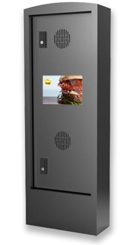 Outdoor Communicator - Kiosks for Quick Service Restaurants (QSR) by PARTTEAM & OEMKIOSKS