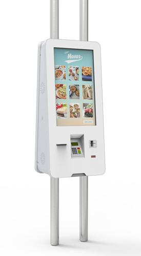 EXOZ QSR SU2 - Kiosks for Quick Service Restaurants (QSR) by PARTTEAM & OEMKIOSKS