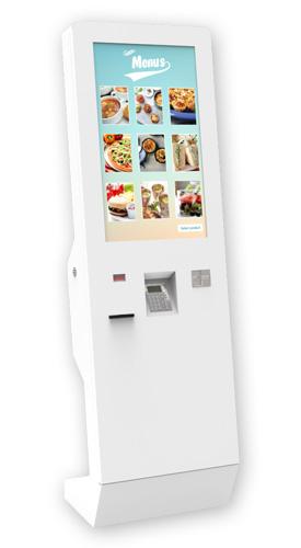XEKOUT QSR ST2 - Kiosks for Quick Service Restaurants (QSR) by PARTTEAM & OEMKIOSKS
