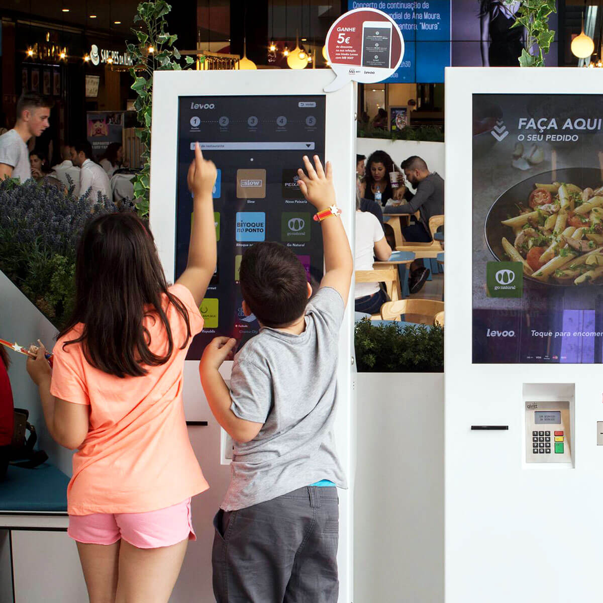 Kiosks for Restaurants (QSR) - Improve the flow of your customers orders