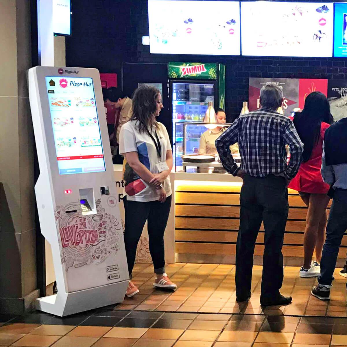 Kiosks for Restaurants (QSR)