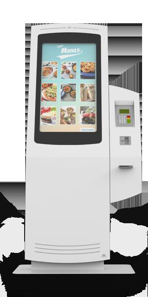 NOMYU QSR ST1 - Kiosks for Restaurants