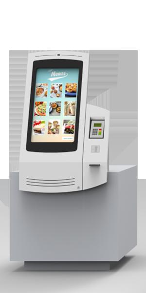 NOMYU QSR B1 - Kiosks for Restaurants