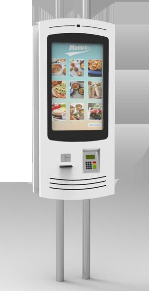 NOMYU QSR SU1 - Kiosks for Restaurants
