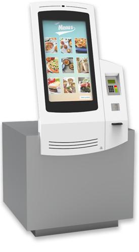 NOMYU QSR B1 - Kiosks for Quick Service Restaurants (QSR) by PARTTEAM & OEMKIOSKS