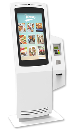 NOMYU QSR ST1 - Kiosks for Quick Service Restaurants (QSR) by PARTTEAM & OEMKIOSKS