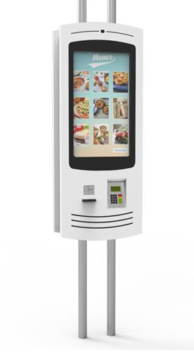 NOMYU QSR SU1 - Kiosks for Quick Service Restaurants (QSR) by PARTTEAM & OEMKIOSKS