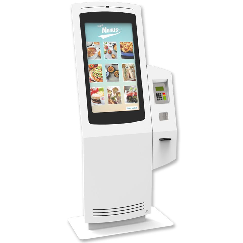 Kiosks for Quick Service Restaurants (QSR) by PARTTEAM & OEMKIOSKS
