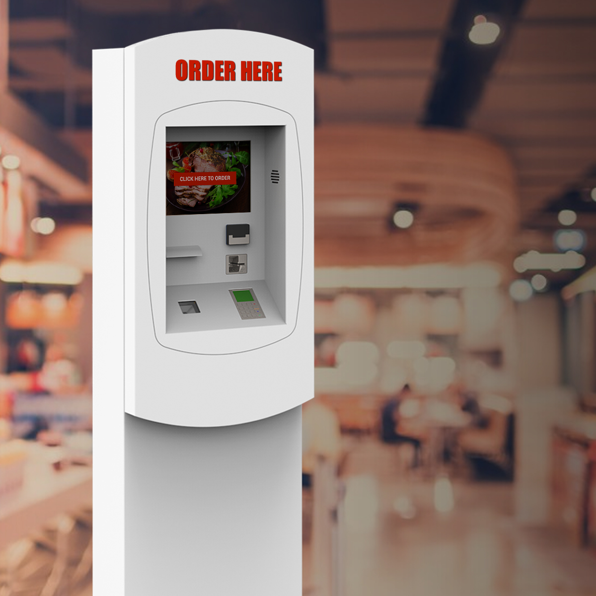 Self-Service Kiosks for Restaurants (QSR) - Sales increase