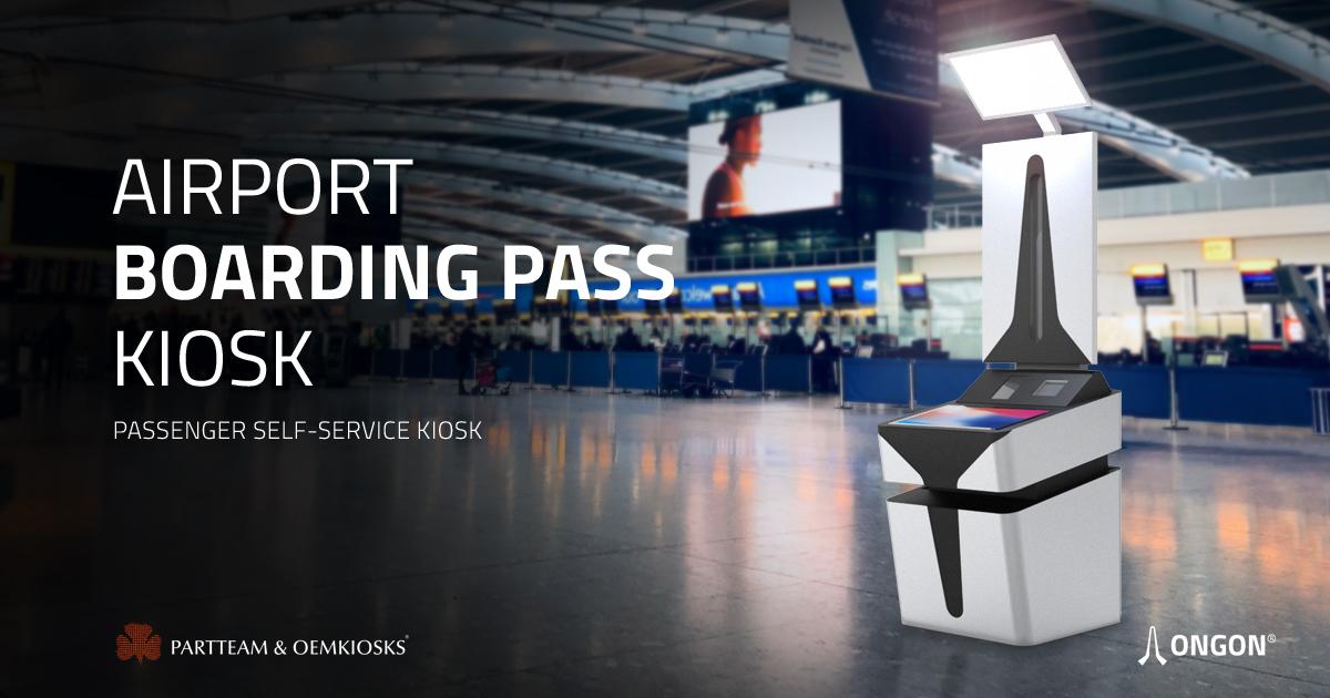 Quiosque self-checkin para aeroportos