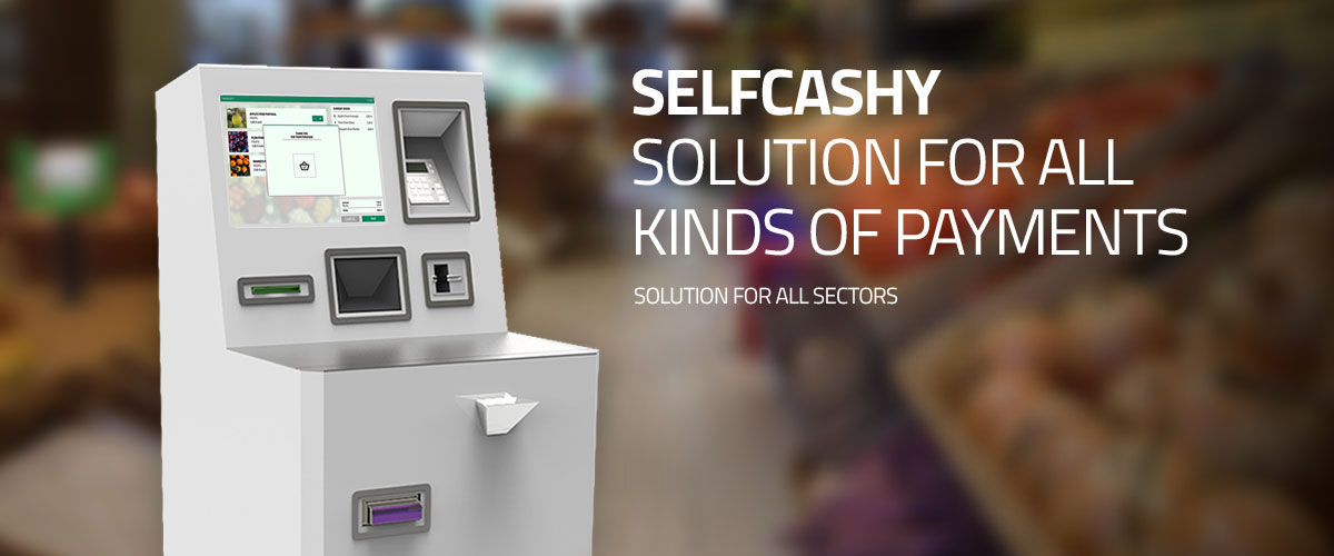 SelfCashy by PARTTEAM & OEMKIOSKS
