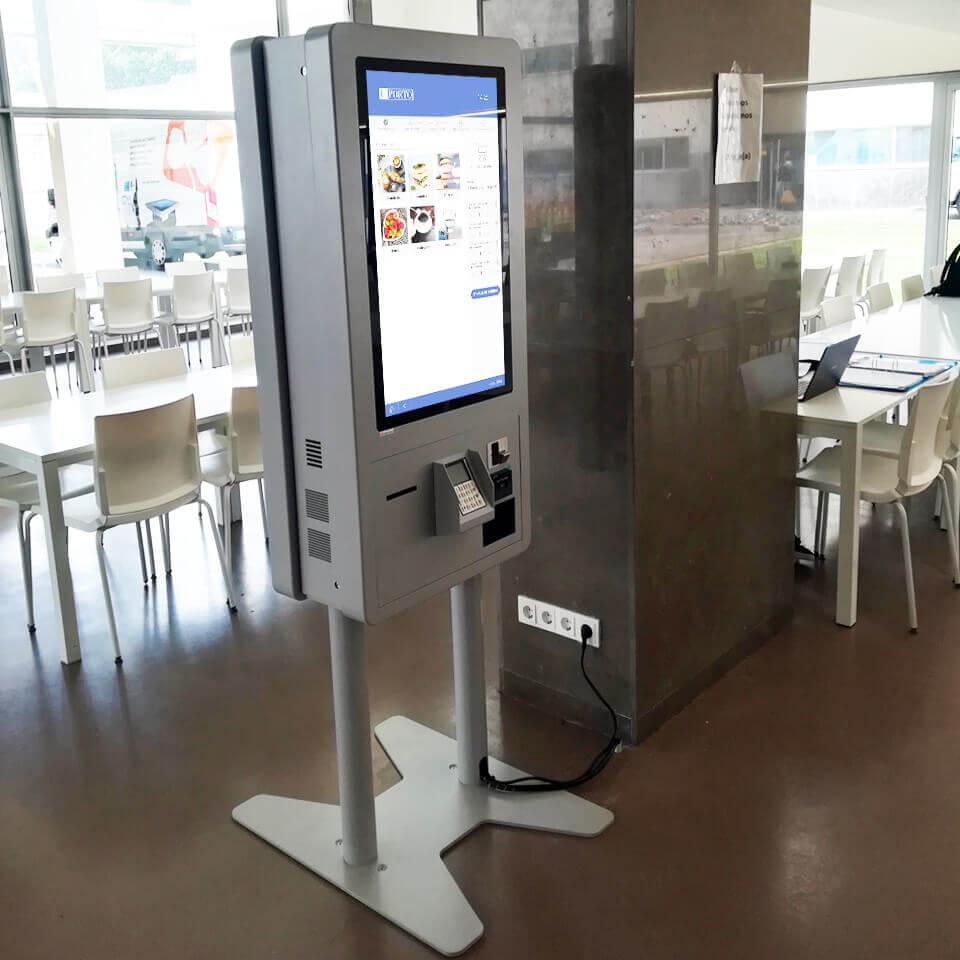 Self-Service Catering Kiosks for University of Porto - PARTTEAM & OEMKIOSKS