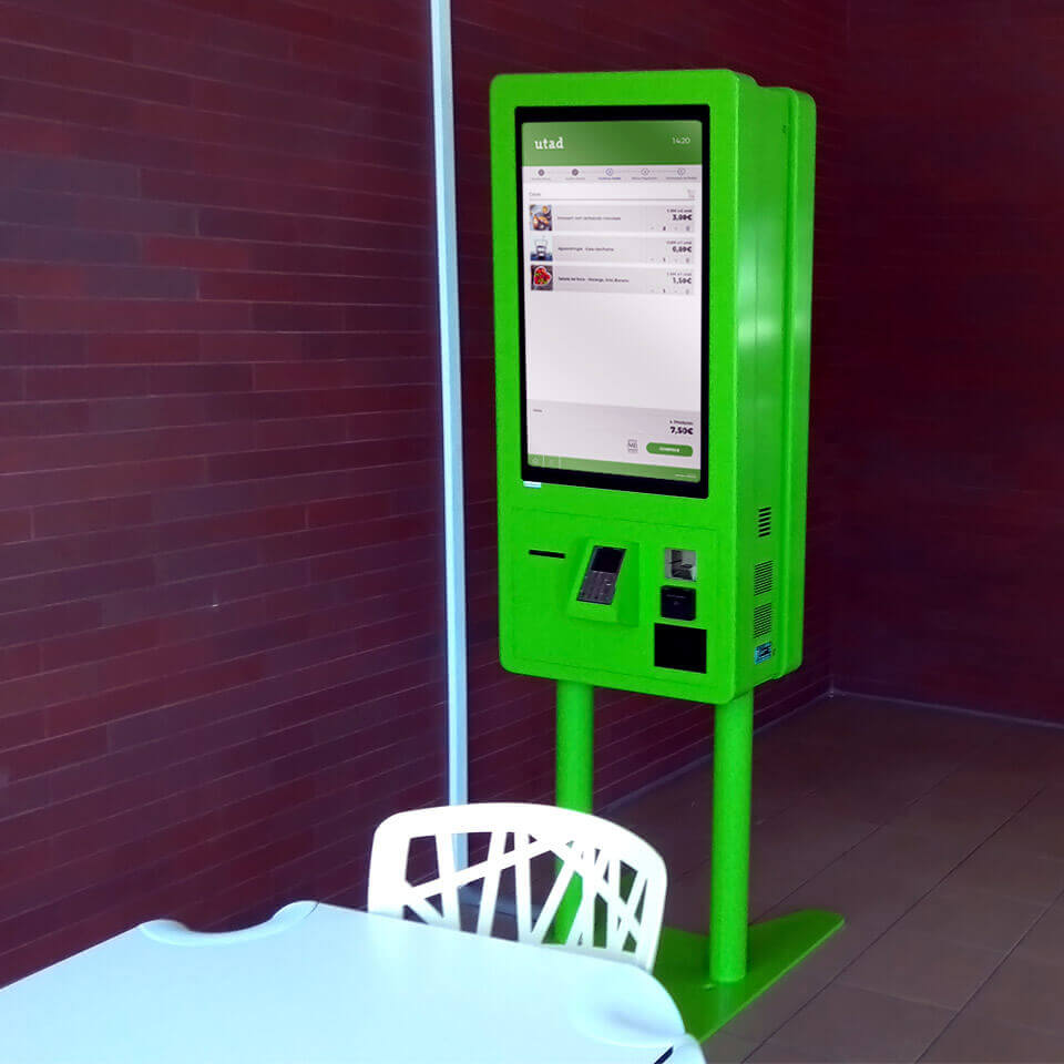 Self-Service Catering Kiosks for University of  Trás-osMontes and Alto Douro - PARTTEAM & OEMKIOSKS