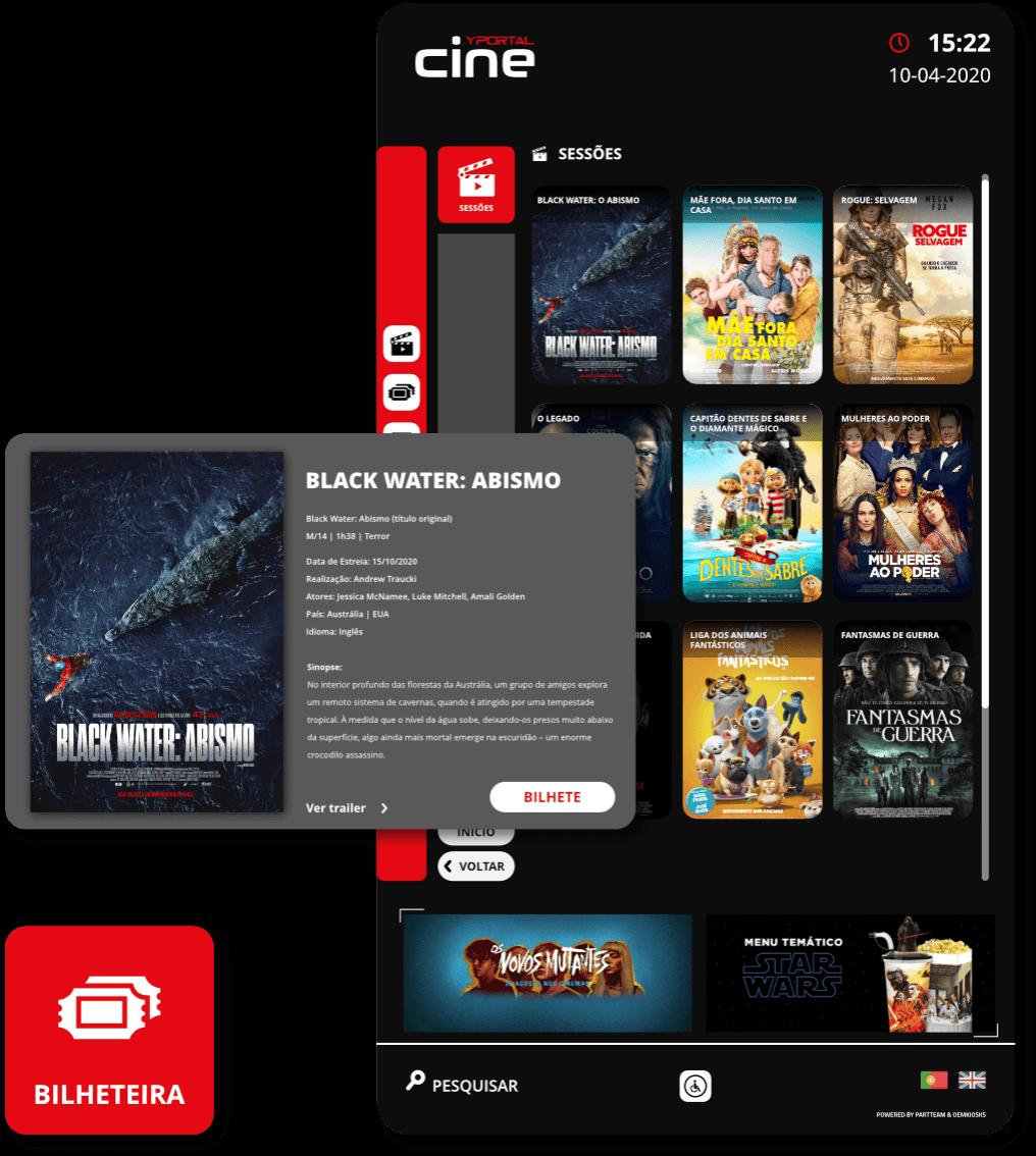YPortal Cine - Digital solution for Cinemas | PARTTEAM & OEMKIOSKS