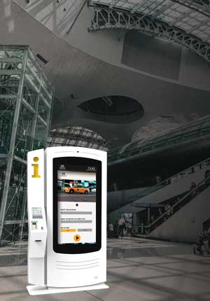 Multimedia Kiosks for Taxis - Airports