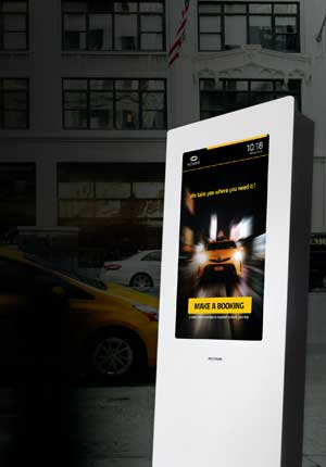 Multimedia Kiosks for Taxis - Hotels