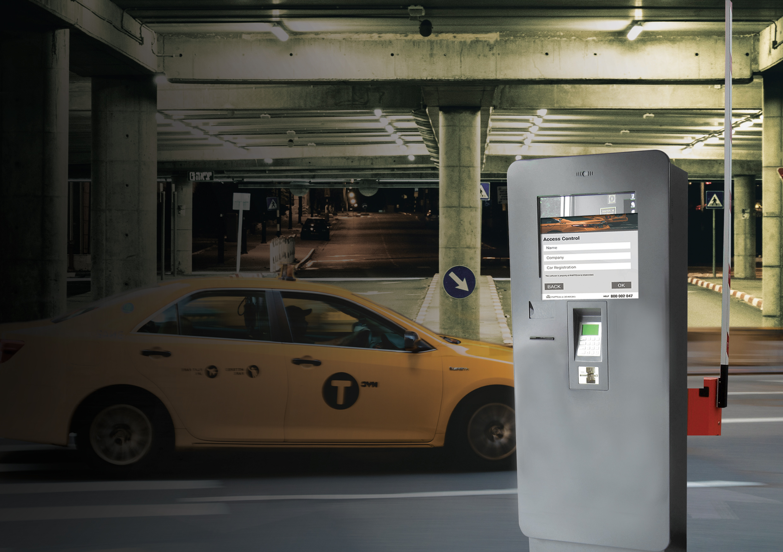 Multimedia Kiosks for Taxis - Access Control