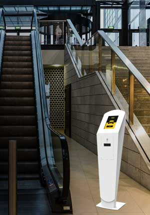 Multimedia Kiosks for Taxis - Shopping Centers
