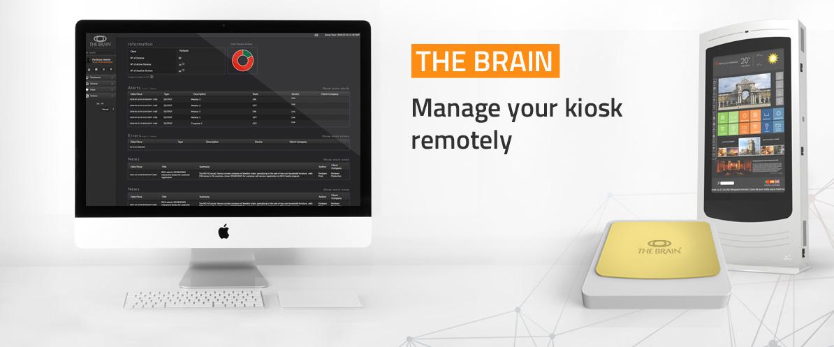The Brain - Remote Kiosk Management